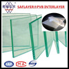 clear pvb film roll for safety laminated glass
