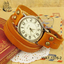 Fashion and Classic Leather Watch 2013 and Long Strap Watch and Lady Watch