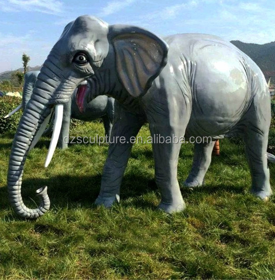 Large Life Size Elephant Sculpture For Garden Decoration