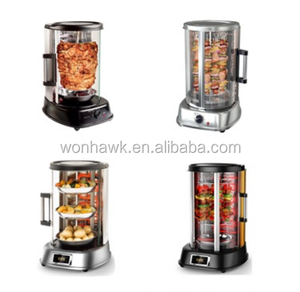 home use portable electric vertical chicken rotisserie