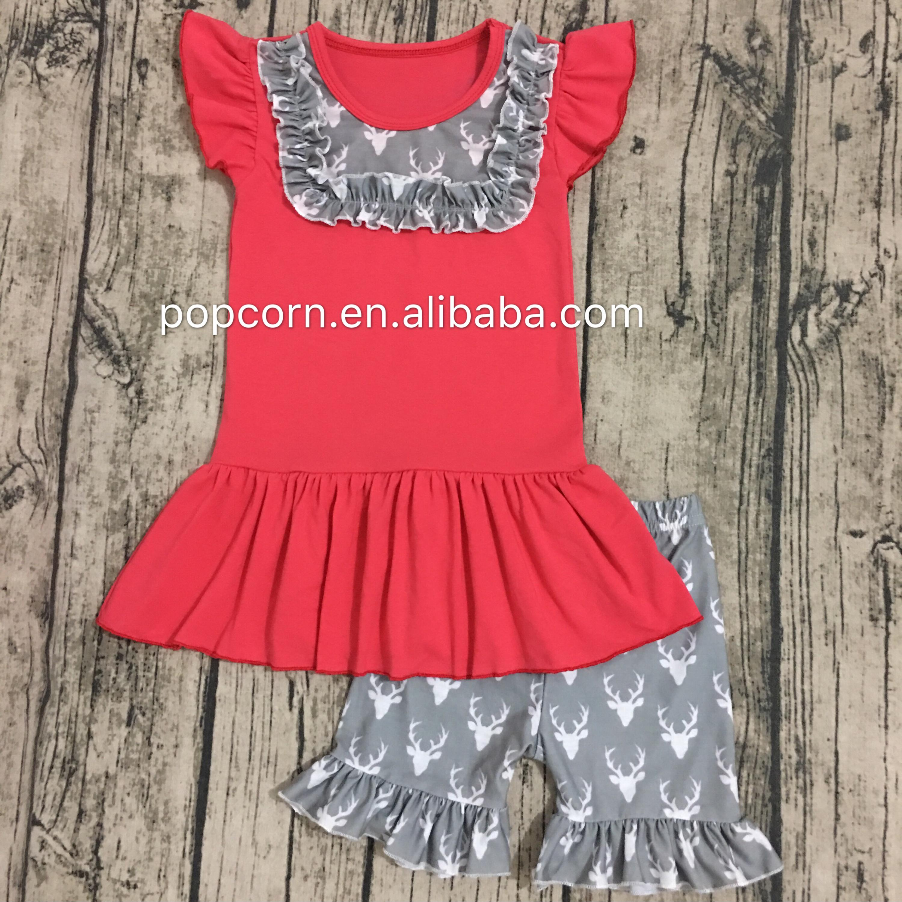 Hot Sale Wholesale Bulk Kids Clothes Cheap China Newborn Baby Girls