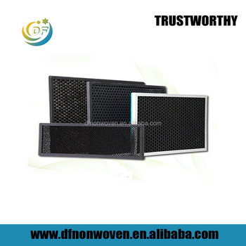 Honeycomb activate carbon zeolite filter for air purification