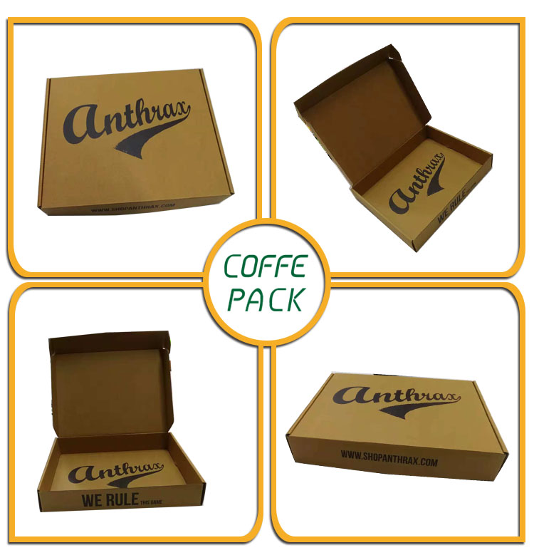 Brown Moving Corrugated carton corrugated die cut gift box