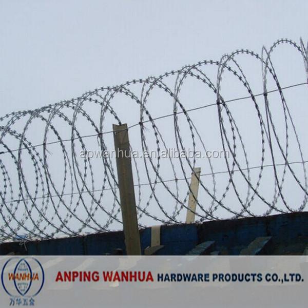 Spiral Razor Blade Barbed Wire, Spiral Razor Blade Barbed Wire ...