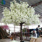 artificial decoration artificial cherry blossom sakura tree large white color flower tree