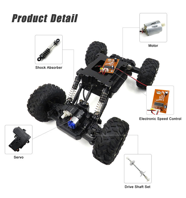 10. 6026E_Black_2.4G_4WD_Off-Road_Buggy_Rc_Climbing_Car_Remote_Control_Alloy_Car