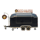 Hot selling commercial mobile ice cream truck van fast food trailer