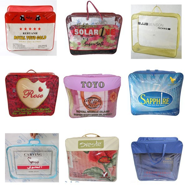 Oem Odm China Supplier Manufacture Promotion Baby Blanket Pvc Bag