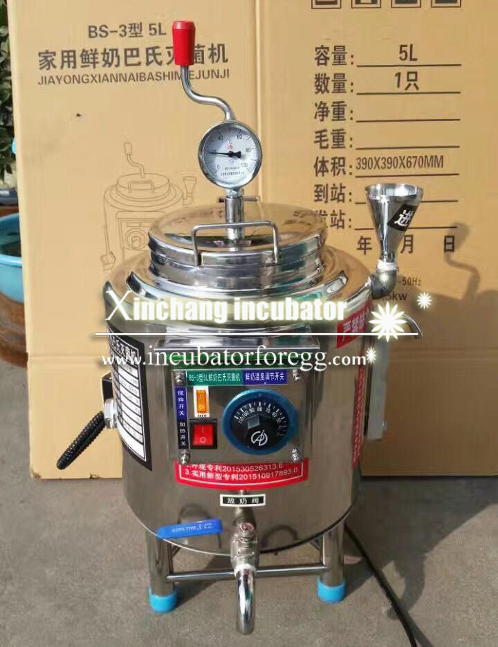 cheap price stainless steel milk yoghurt pasteurizer tank/milk yogurt juice plate pasteurizer/milk sterilizer tank