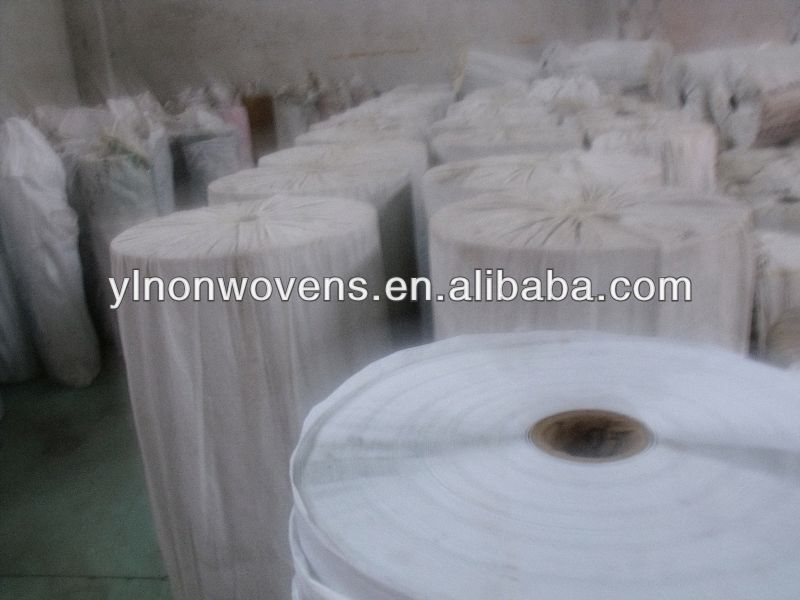 PET Non Woven fabric polyester (pet) non woven fabric for chef hat making materials