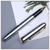 Luxury metal cap-off roller pen hottest style promotional metal parker rollerball pens