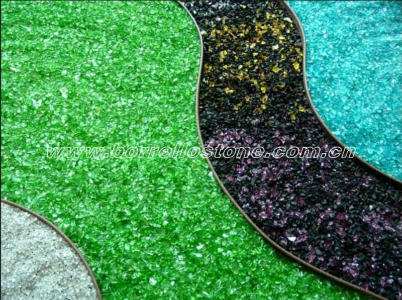 Decorative Broken Glass Chips - Buy Glass Chips,Landscaping Glass  Chips,Colored Glass Chips Product on Alibaba.com