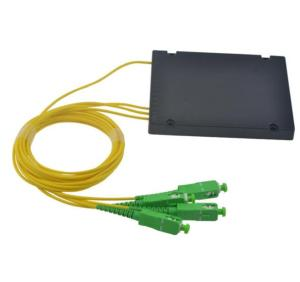 Fiber Optic PLC Splitter 1x3 1x6 1x9 1x12 1x32 1x64 sc/apc Fiber Optic Splitter With Box/passive optical