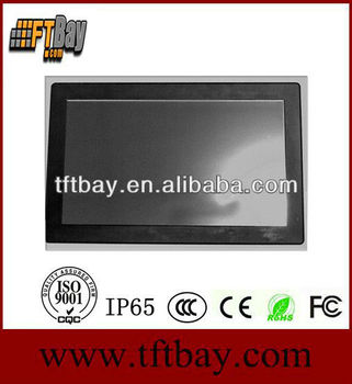 "2013 Best-selling12"" waterproof LCD IP65 touchscreen monitor"