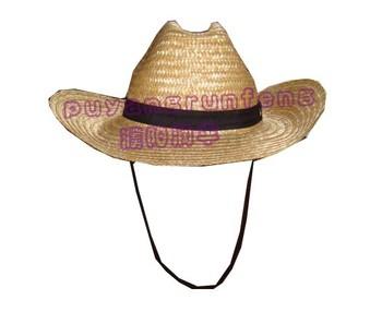 Wholesale Sombrero Straw Hat  cowboy Mexican Hat For Men  straw Cowboy Hat  - Buy Straw Mens Cowboy Hat 93c3bcd3853