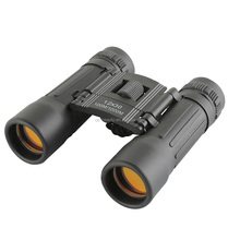 Mini 12X30 Hd Wide-angle Binoculars Portable Red Membrane Optics Binocular for Hunting Telescope Luneta Binoculors