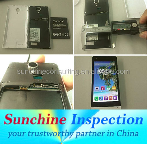 Consumer Electronics Quality Inspection Services / Mobile Phone and Accessories Quality Control Services in Shanghai
