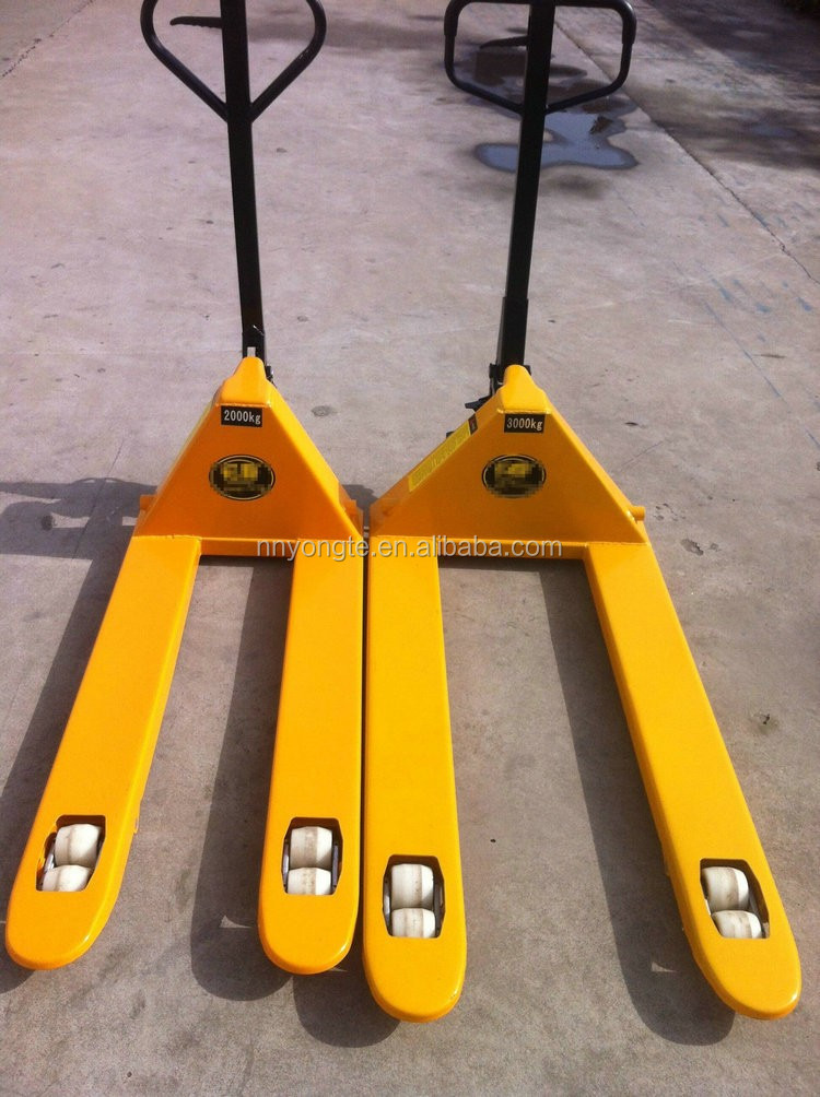 2t Manual hot sale cby-ac hand pallet truck