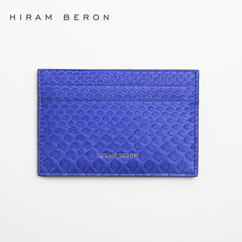 personalized design leather custom python skin card holder with competitive - Personalized Card Holder