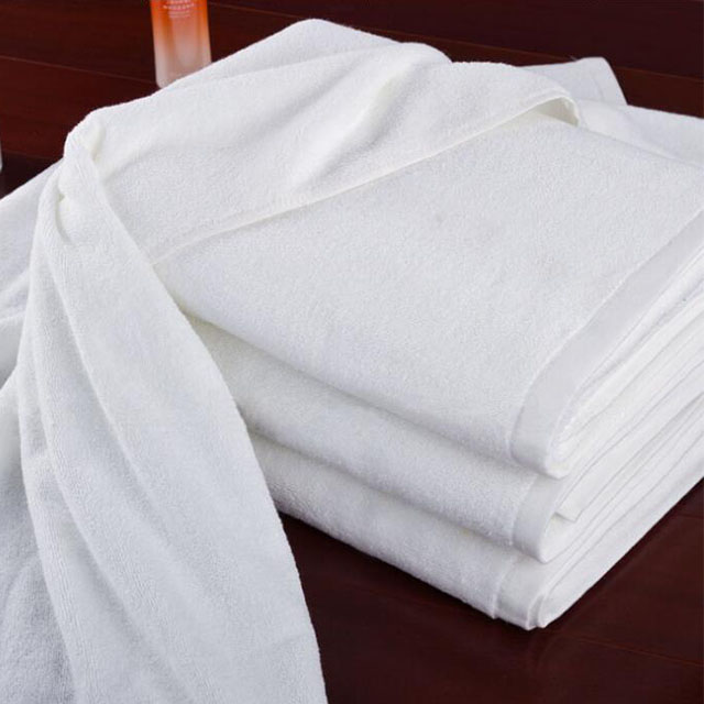 100% Cotton white <strong>towels</strong> for hotel bath