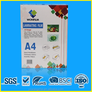 A3/A4/B4/B5/ any size glossy/matte laminating pouches