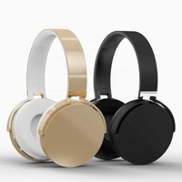 Jakcom BH2 Black or Gold Best popular of Smart Wireless Bluetooth Headset With Aux Audio cable MicroUSB cable
