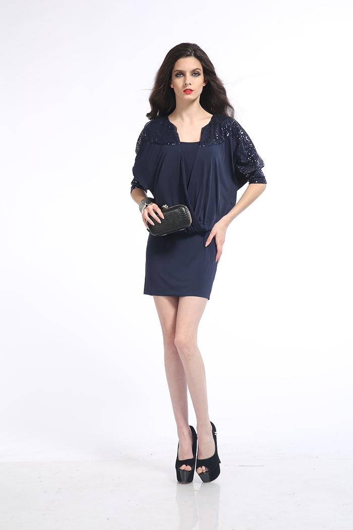 276280f0597a7 Bayanlar midi elbiseler OEM / ODM moda yeni stil kadınlar casual vuruş kısa  elbise bohem tarzı