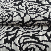 Hot sale China supplies great material textile floral jacquard fabric design latest for mattress