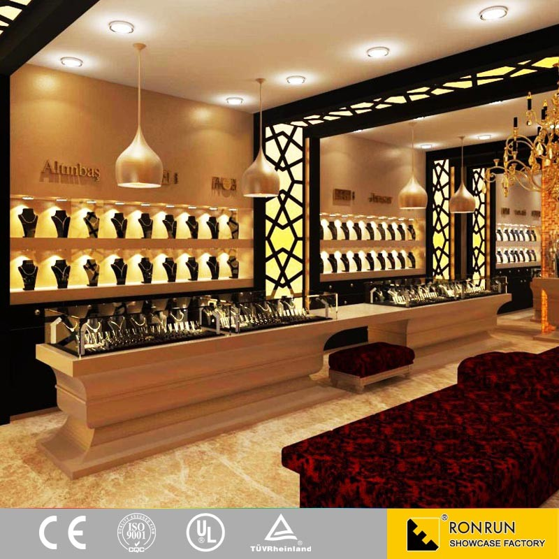 High Quality Jewellery Showroom Display Cabinets And Jewelry Shop ...