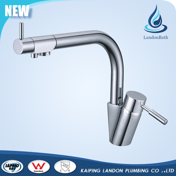 Luxury Chrome Kitchen Sink Mixer Tap Faucet With Drinking Water