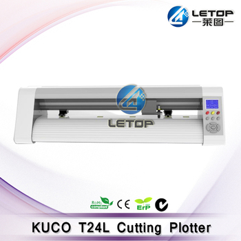 Teneth Cutting Plotter Kuco T24l Vinyl Cutting Plotter With Flexi 10  Software - Buy Vinyl Cutting Plotter,Kuco T24l Vinyl Cutting  Plotter,Cutting