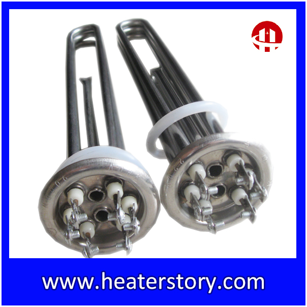 Electric Flanged kettle Heating Element immersion heater