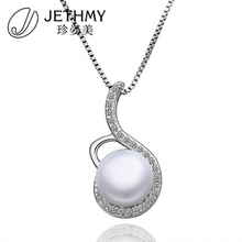 Latest exotic costume jewelry fancy coral pearl pendant for women