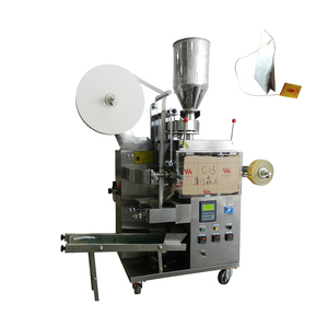 high working effort Low Noise Automatic Double Pouch Tea Bag Packing Machine