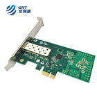 1GbE Single SFP Intel I210based Fiber NIC Optic Network Card