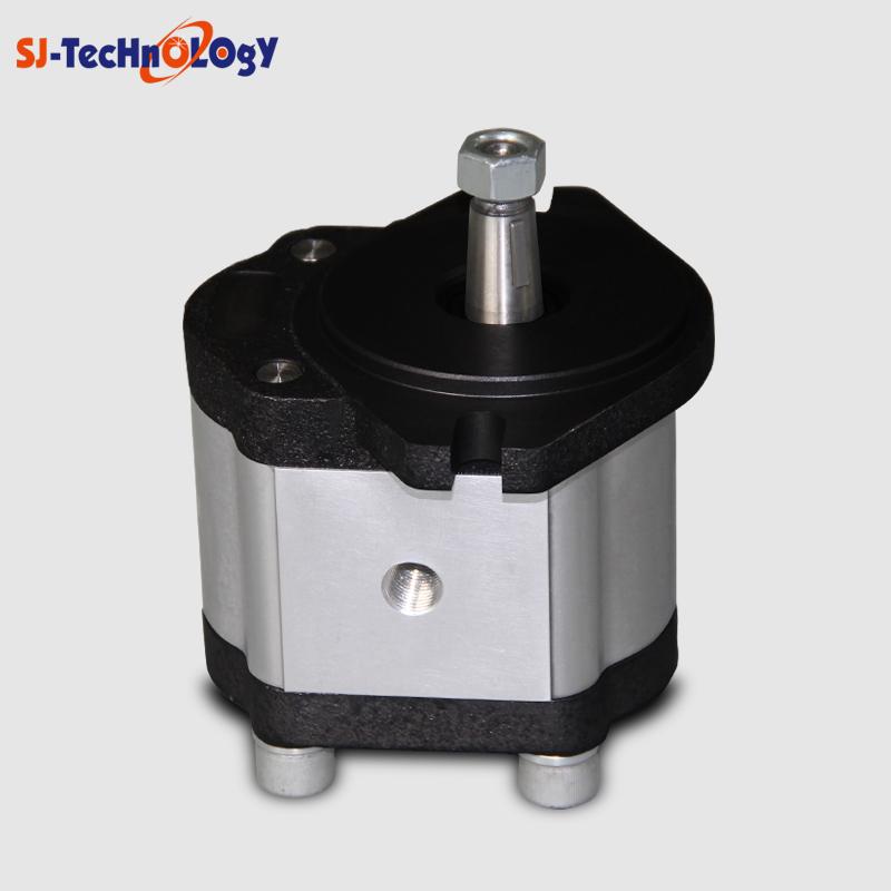 SJYY single stage pump micro hydraulic oil gear pump