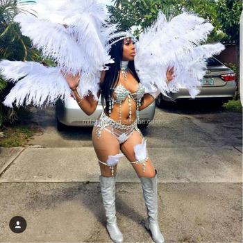 silver carnival wear Sexy