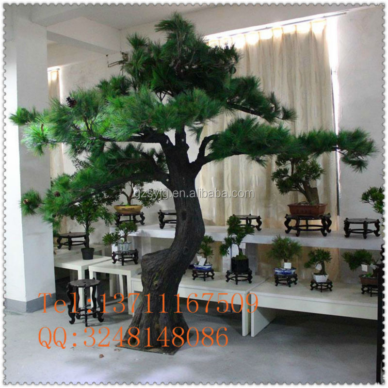 Large Artificial Pine Tree / Fiberglass Fake Pinaster