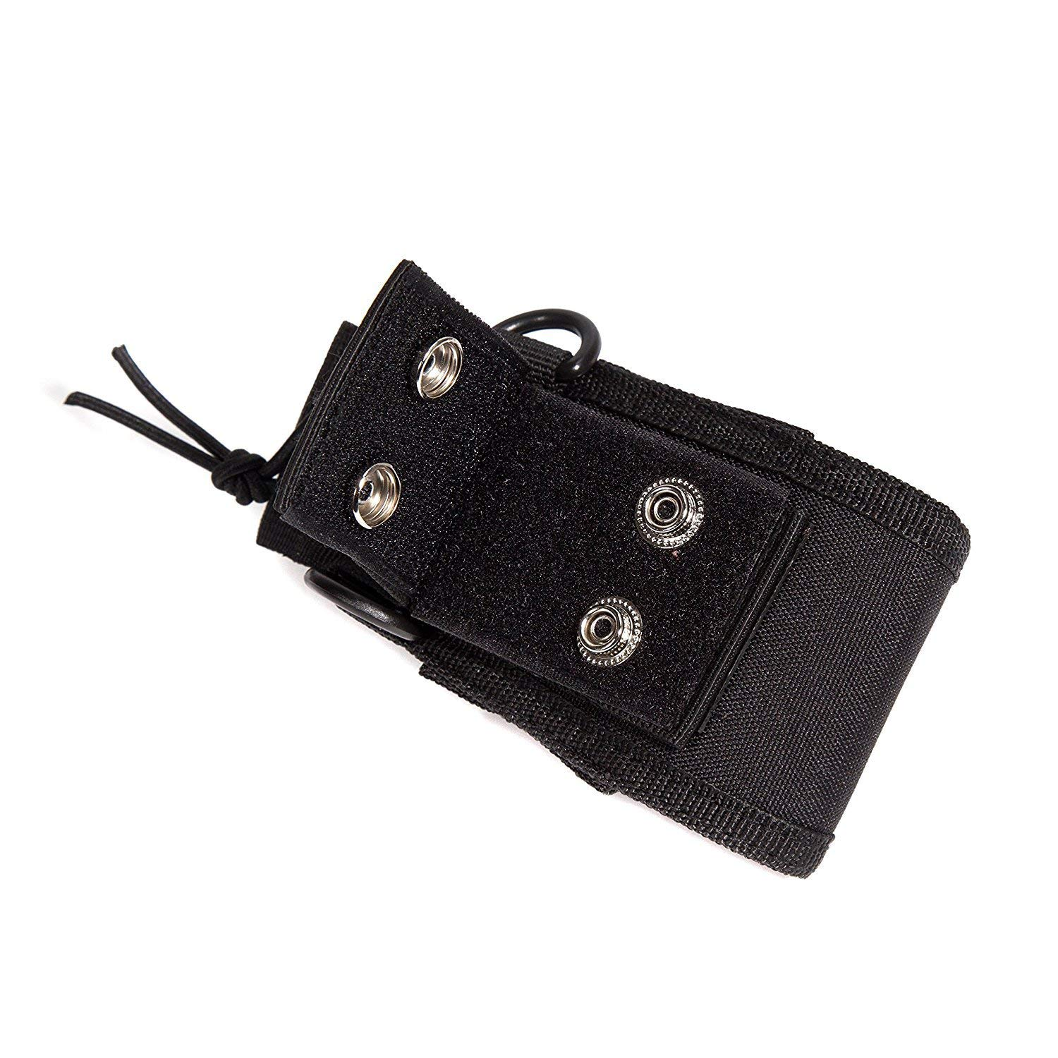 Universal de Multi-Função walkie talkie Transporte/Cinto/Neck Pouch Case Bag for Two Way Radio Transceiver