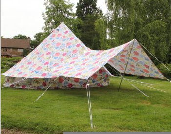 6M Fly Screen Bell Tent & 6m Fly Screen Bell Tent