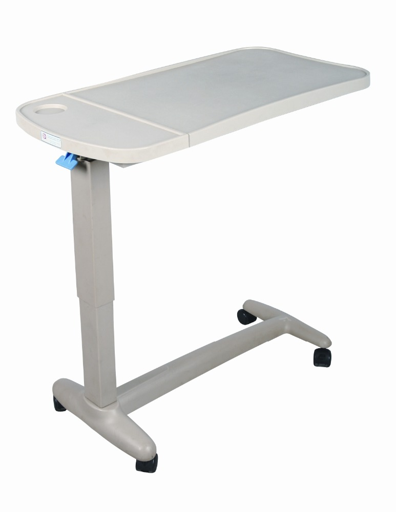 portable foldable over bed table desk