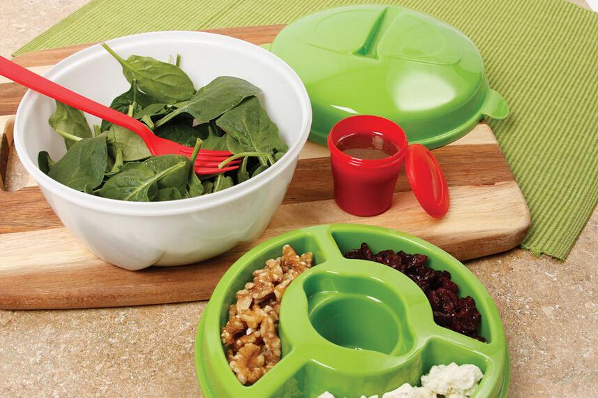Kunststoff salatschüssel mit Deckel/BFA frei salatschüssel mit deckelGroßhandel, Hersteller, Herstellungs