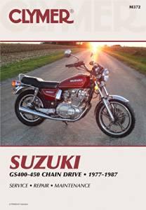 89-02 SUZUKI GS500E Clymer Service Manual