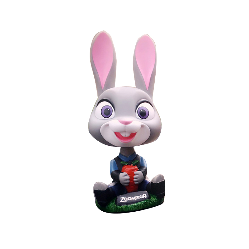 qute rabbit toy sculpture