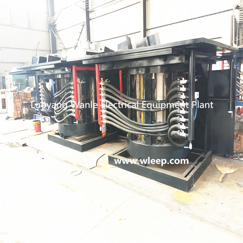 2T Steel Shell IF Induction Steel Melting Furnace
