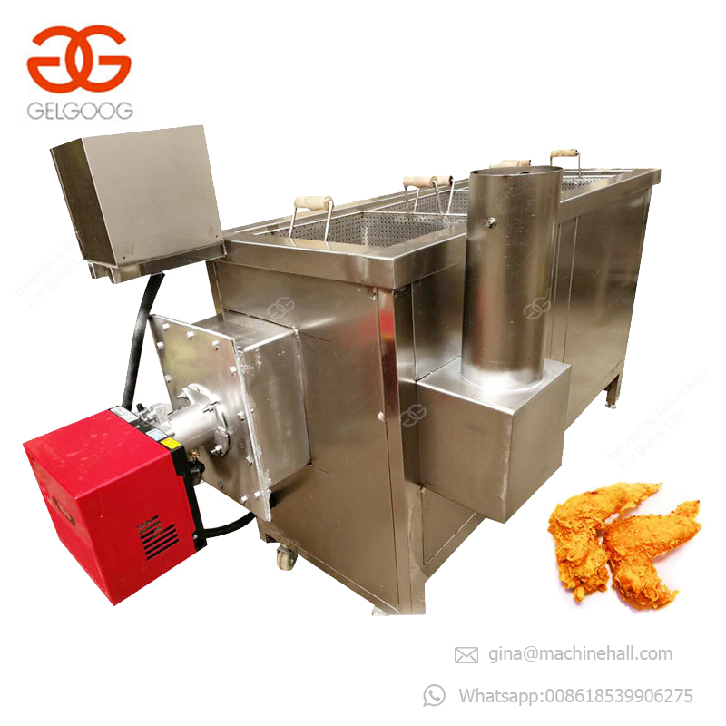 Commercial Automatic French Fry Fryer 2 Tank 2 Basket 4 Basket Lift Deep Fryer With Best Price