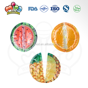 fruit flavor slice shaped jelly