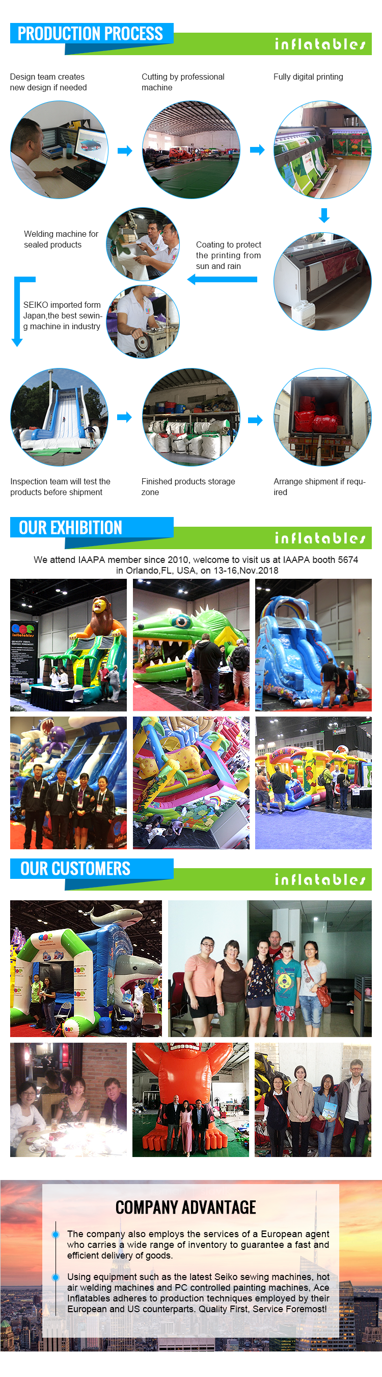 commercial car military truck inflatable Obstacle Course for kids