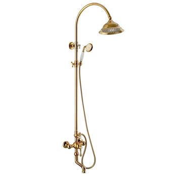 Wall Mounted Telephone Shower Antique Golden Shower Set - Buy Golden ...
