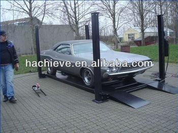 Hydraulic Garage four pole car lifts hydraulic garage auto lift drawing -  buy four